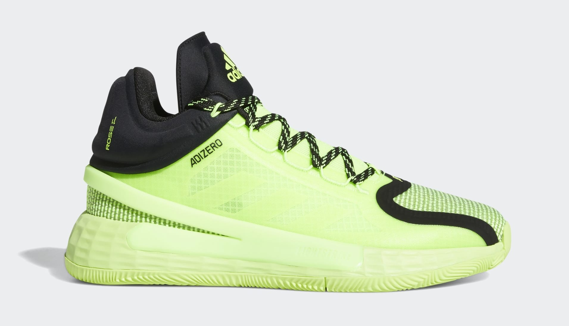 Adidas D Rose 11 'Fast Don't Lie' FU7405 Lateral