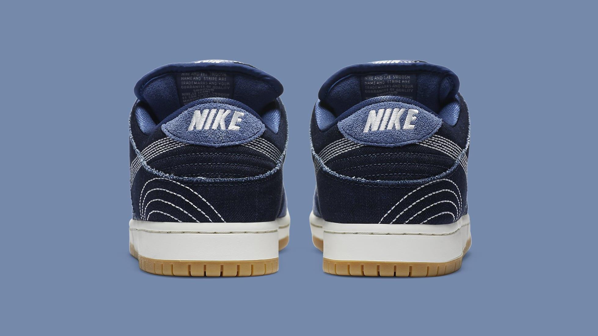 Nike SB Dunk Low 'Sashiko' CV0316-400 Heel