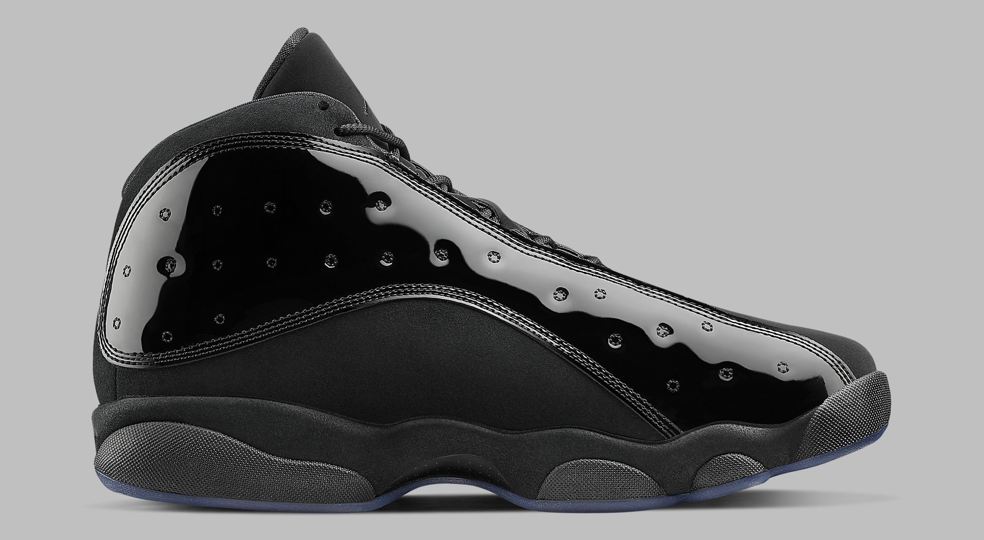 5f05251171ec Image via Nike Air Jordan 13 Retro  Cap and Gown  414571-012 Medial