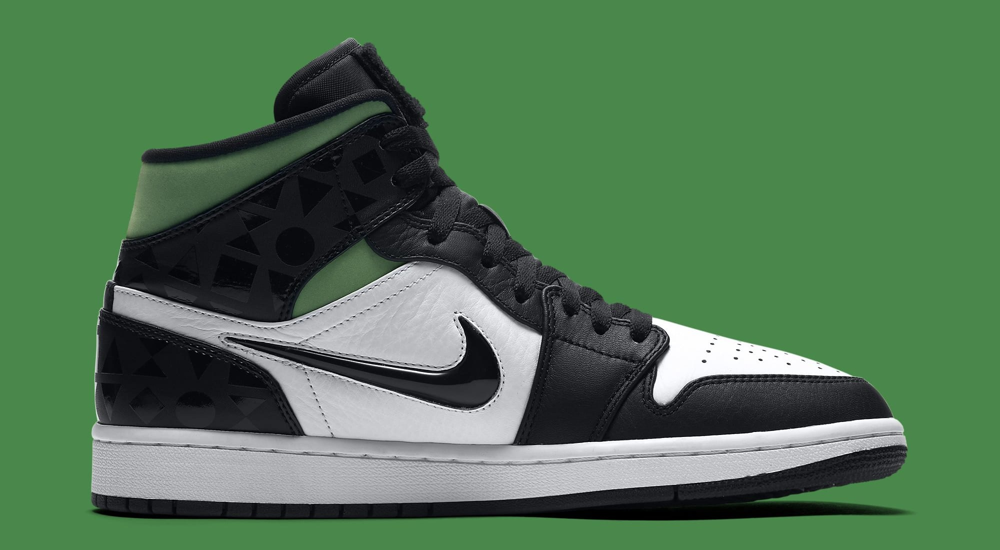 Air Jordan 1 Retro Mid 'Quai 54' CJ9219-001 Medial