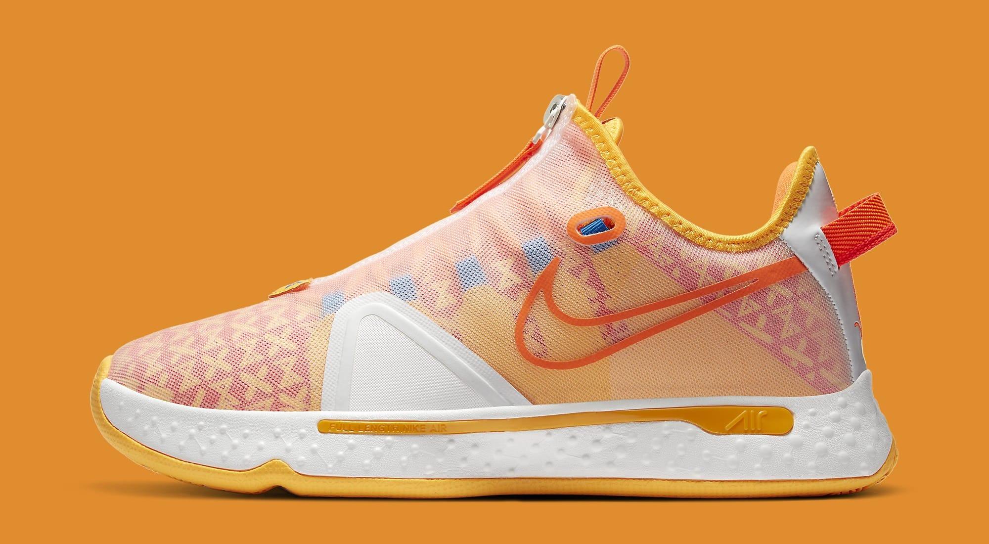Gatorade x Nike PG 4 'Orange' CD5078-101 Lateral