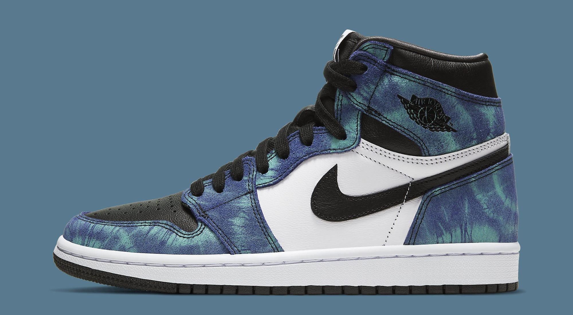 Air Jordan 1 Retro High OG Women's Tie-Dye CD0461-100 Lateral