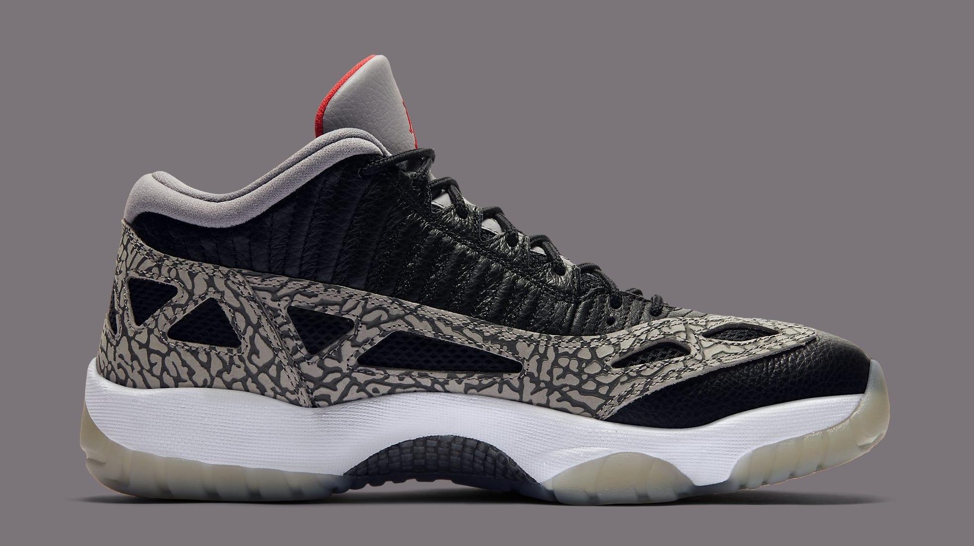 Air Jordan 11 Retro Low Black Cement Release Date 919712 006