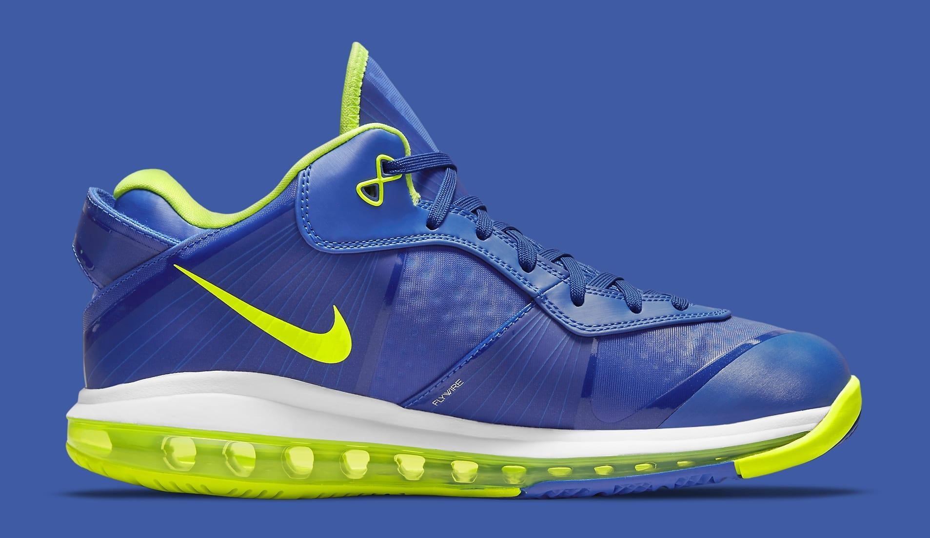 Nike LeBron 8 Low 'Sprite' 2021 DN1581-400 Medial