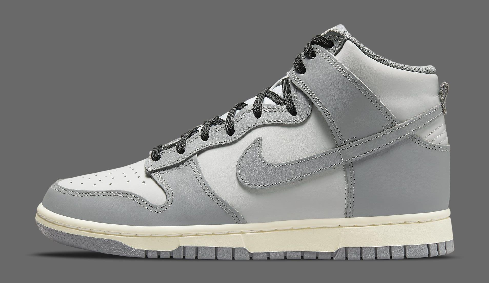 Nike Dunk High 'Grey' DD1869-001 Lateral