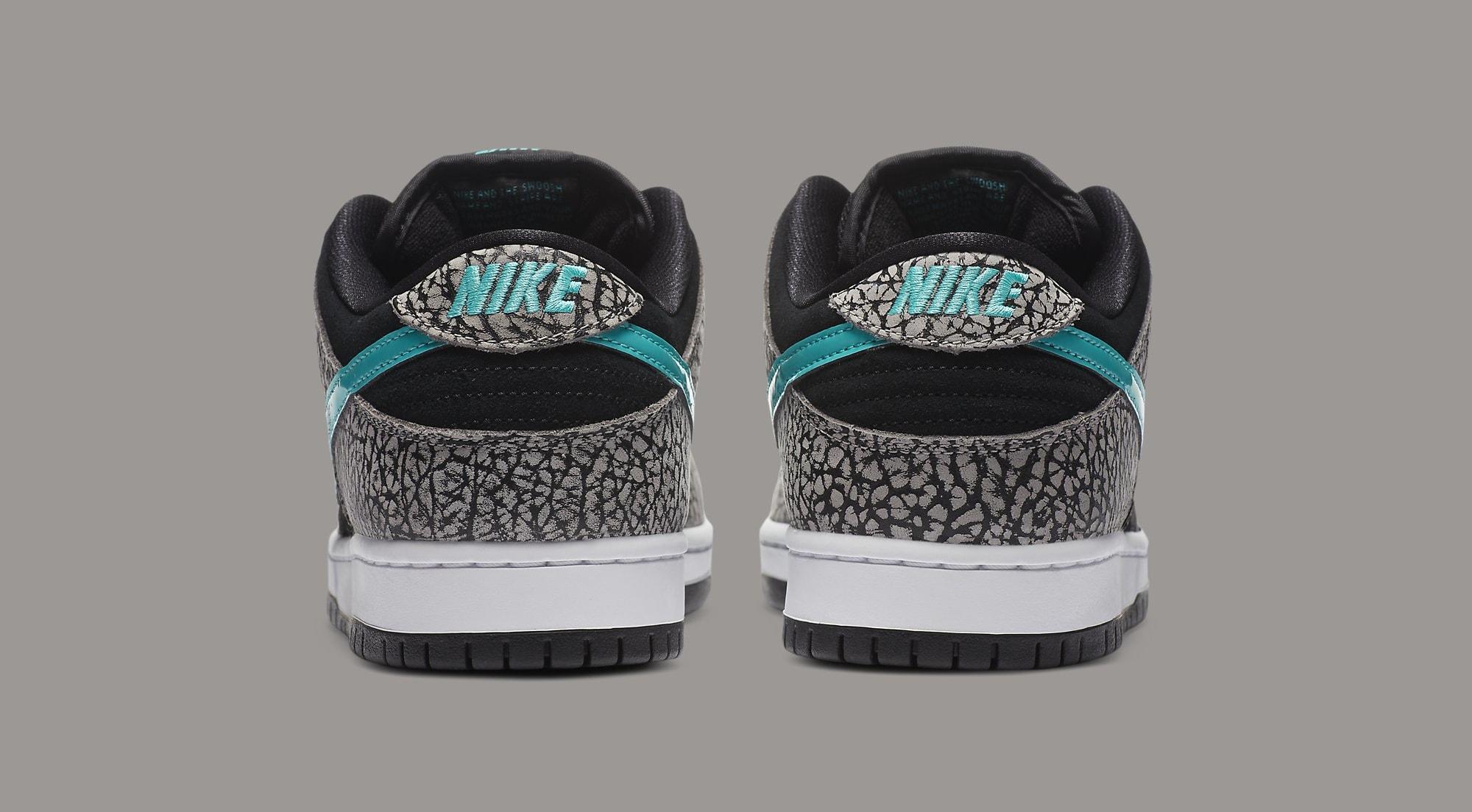 Nike SB Dunk Low 'Atmos Elephant' BQ6817-009 Heel