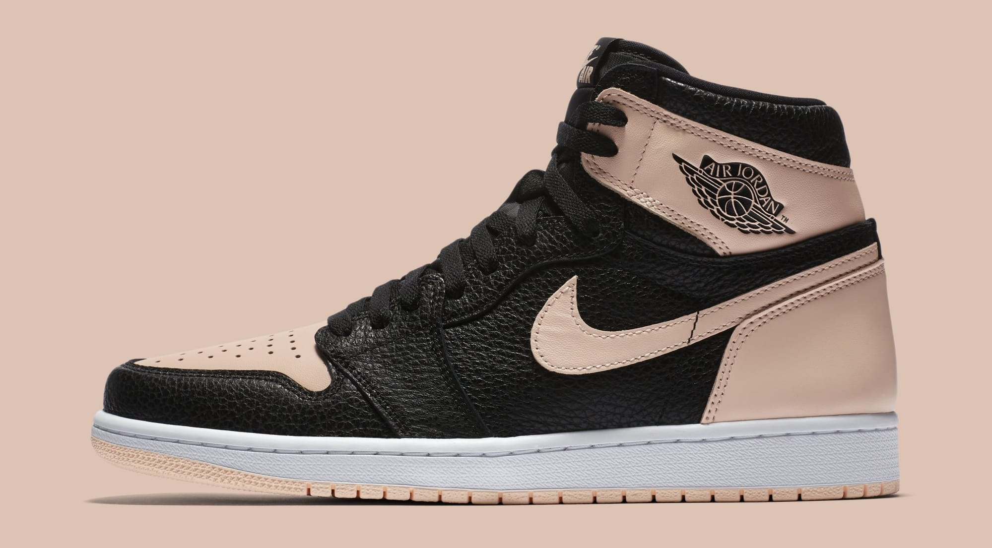 Air Jordan 1 'Crimson Tint' 555088-081 (Lateral)