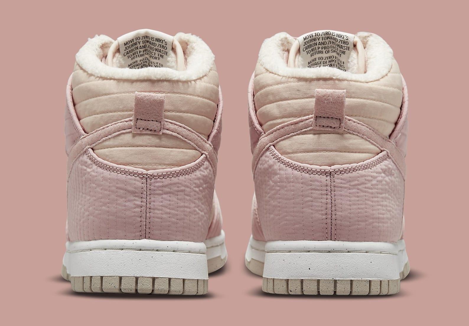 Nike Dunk High Toasty Pink DN9909-200 Release Date Heel