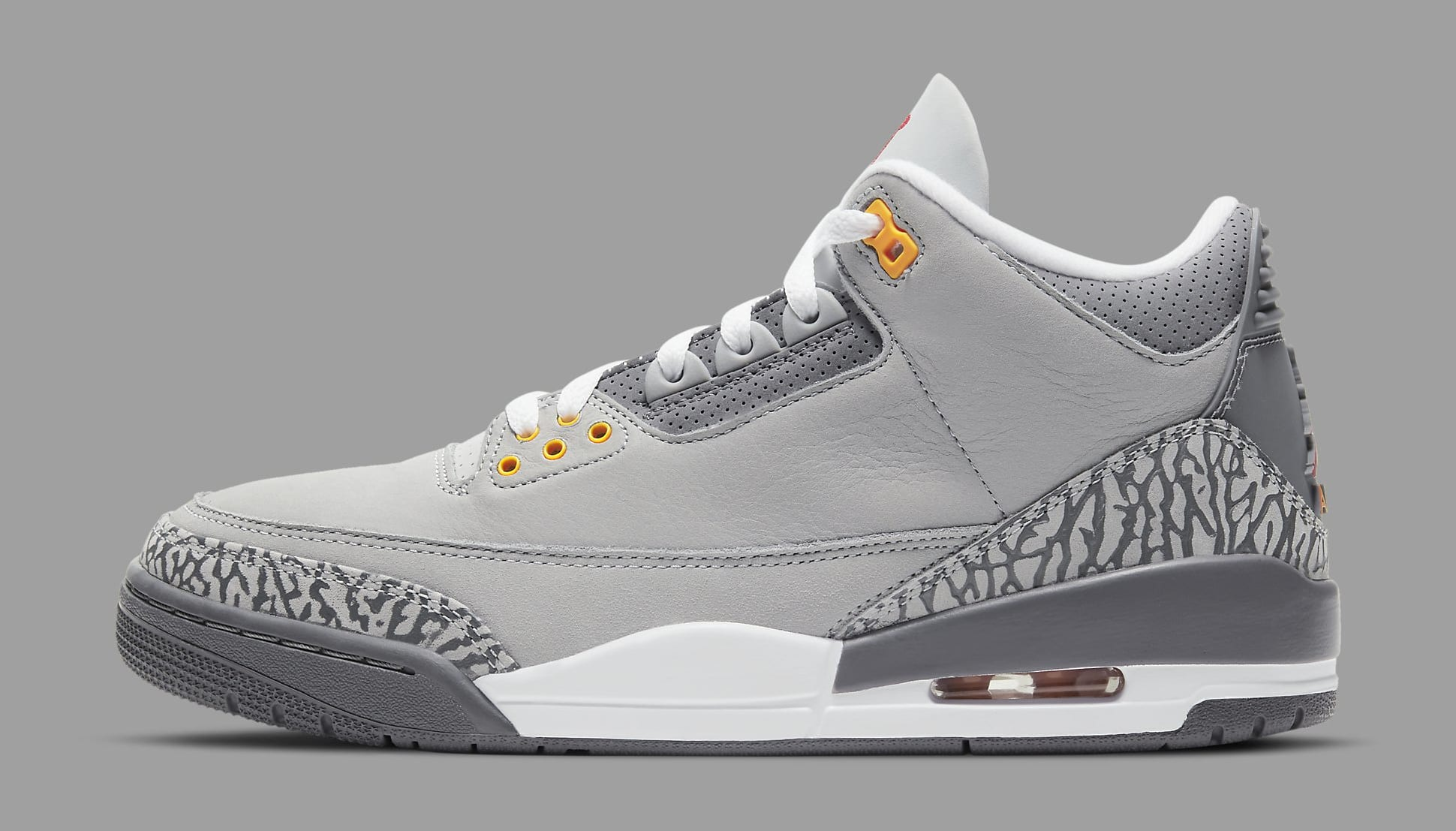 Air Jordan 3 Retro 'Cool Grey' 2021 CT8532-012 Lateral