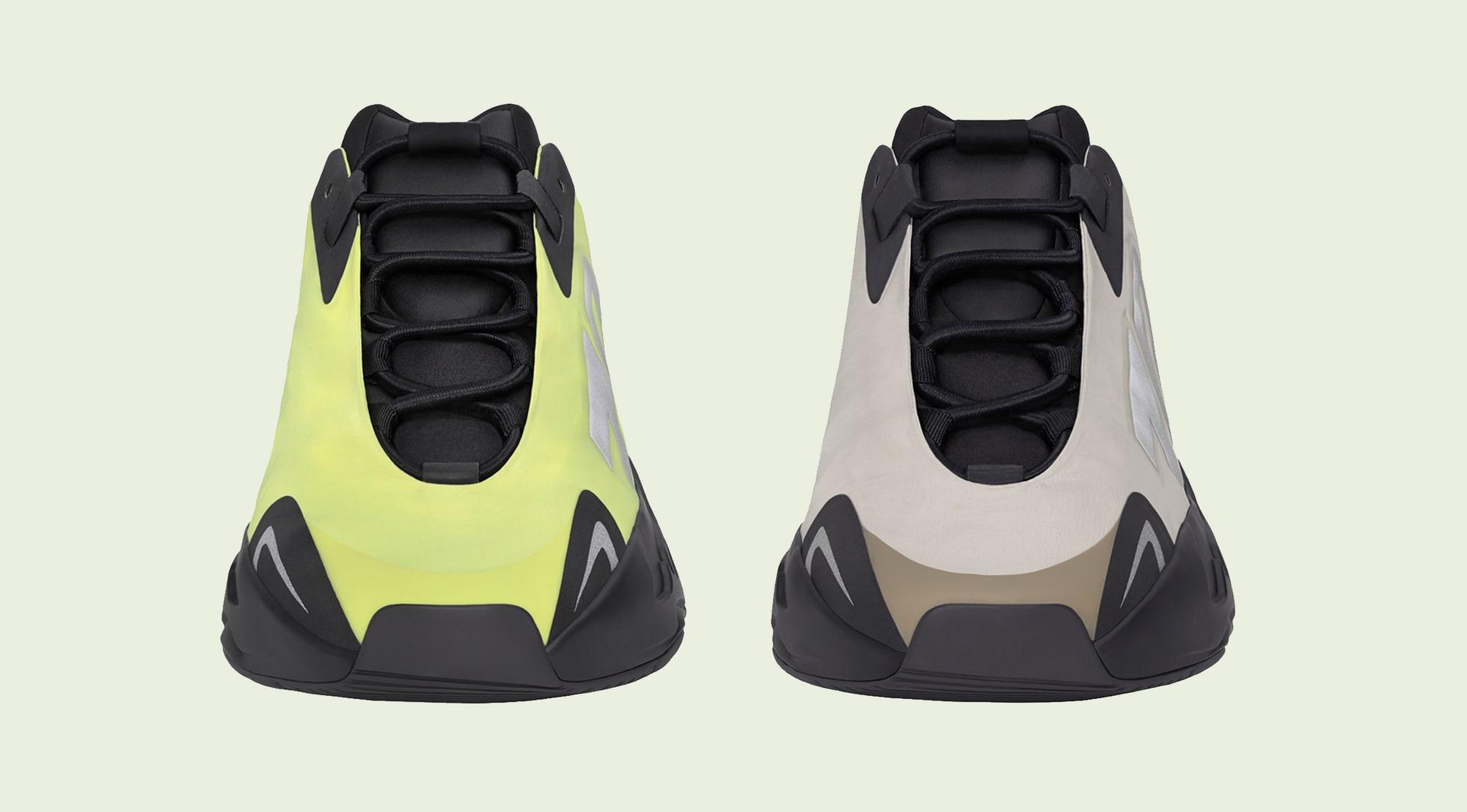 Adidas Yeezy Boost 700 MNVN 'Phosphor' 'Bone' Front