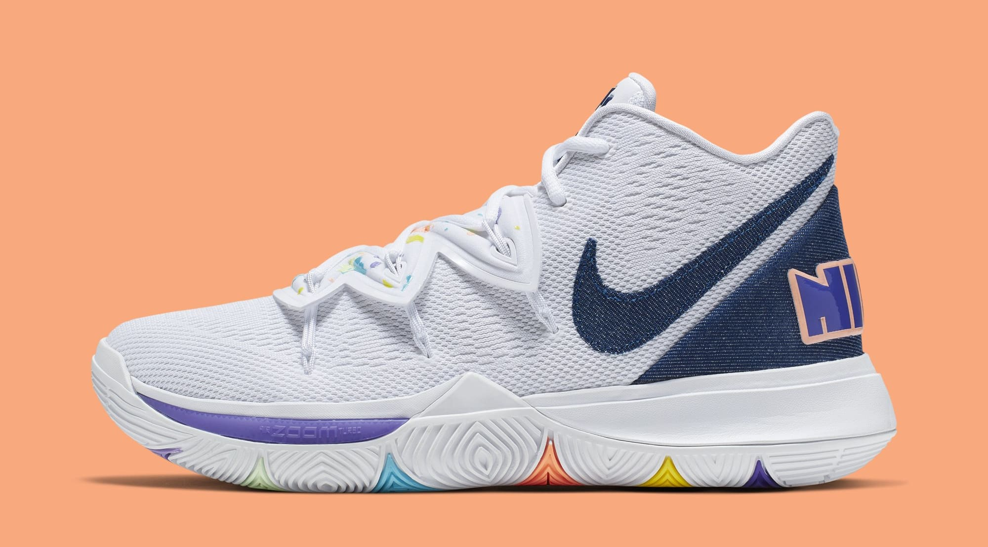 the best attitude b411e bce98 Nike Kyrie 5  Have a Nike Day  AO2919-101 (Lateral)