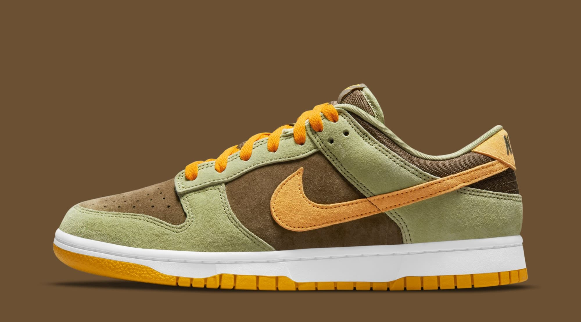 Nike Dunk Low 'Dusty Olive' DH5360-300 (Lateral)
