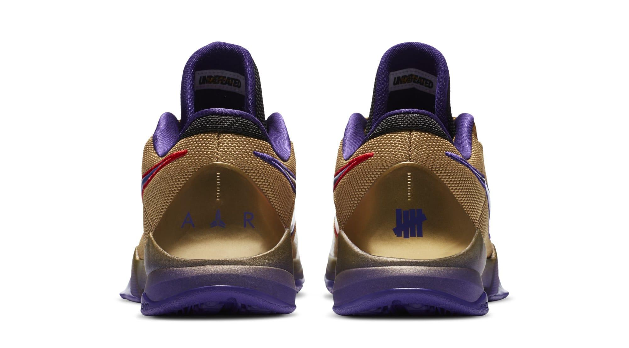 Undefeated x Nike Kobe 5 Protro 'Hall of Fame' DA6809-700 (Heel)
