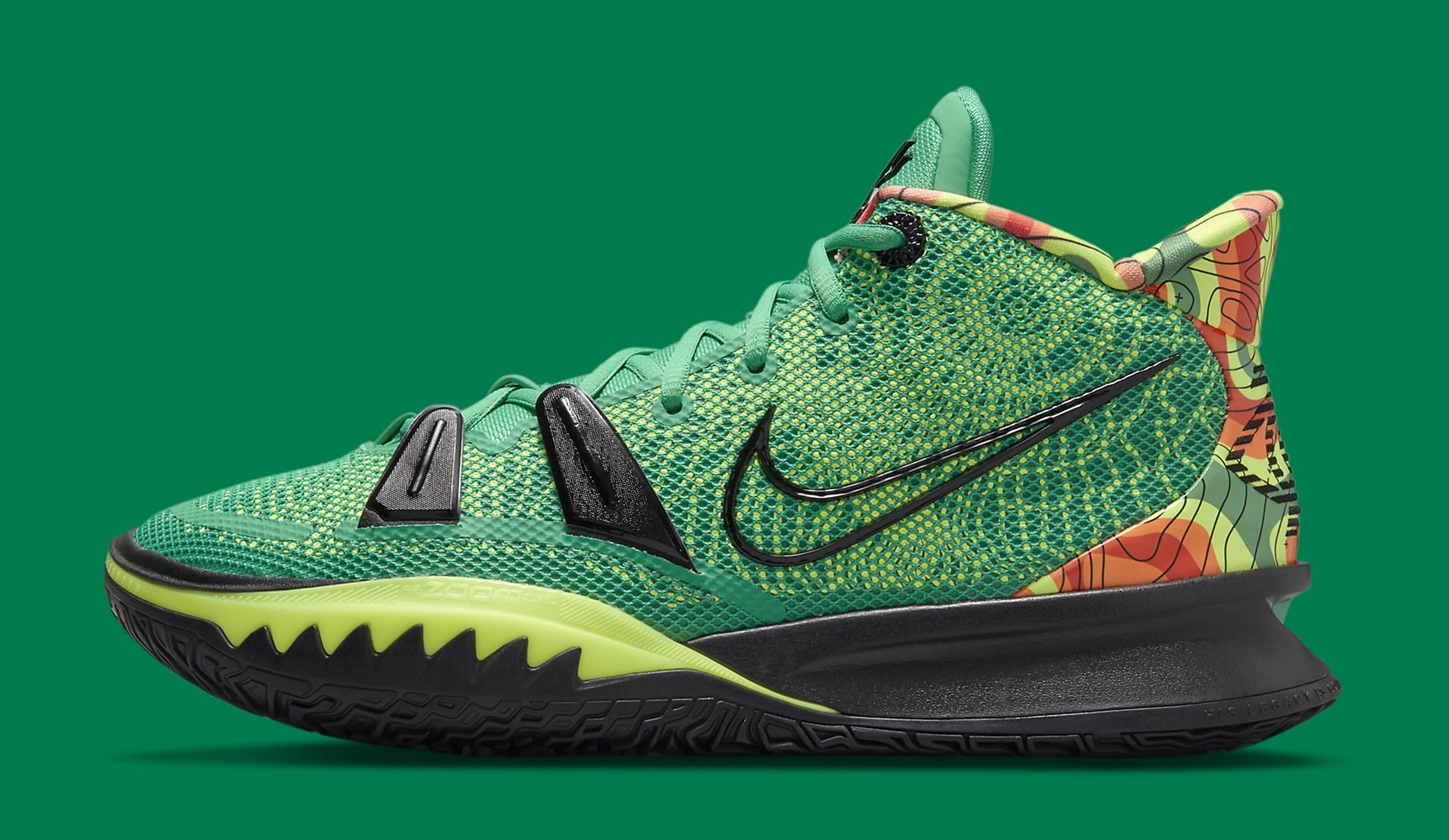 Nike Kyrie 7 'Weatherman' CQ9327-300 Lateral