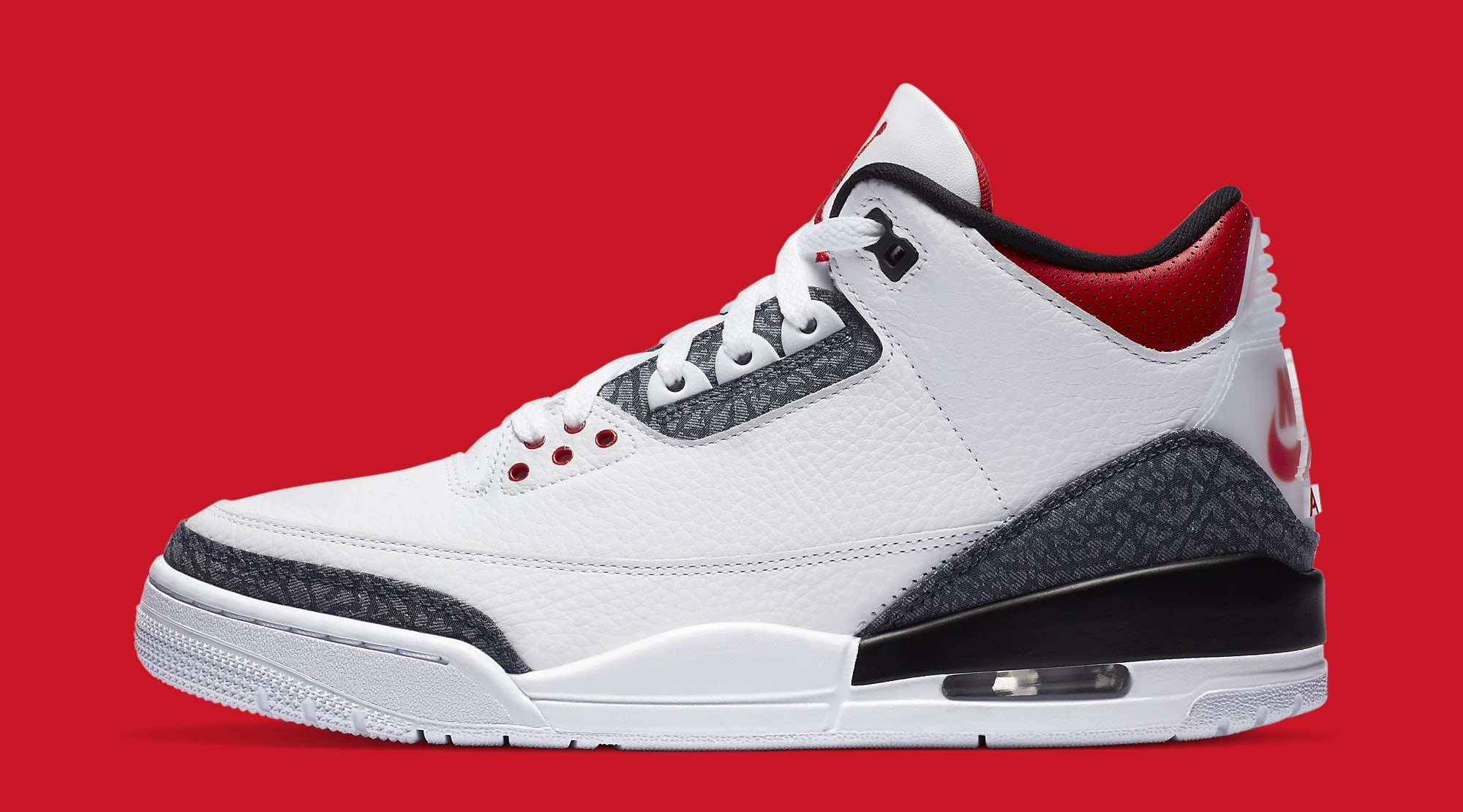 Air Jordan 3 Retro Denim CZ6431-100 Lateral