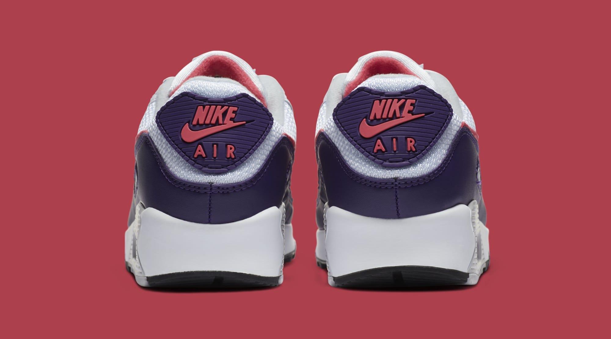 Nike Air Max 90 Women's 'Eggplant' CW1360-100 Heel
