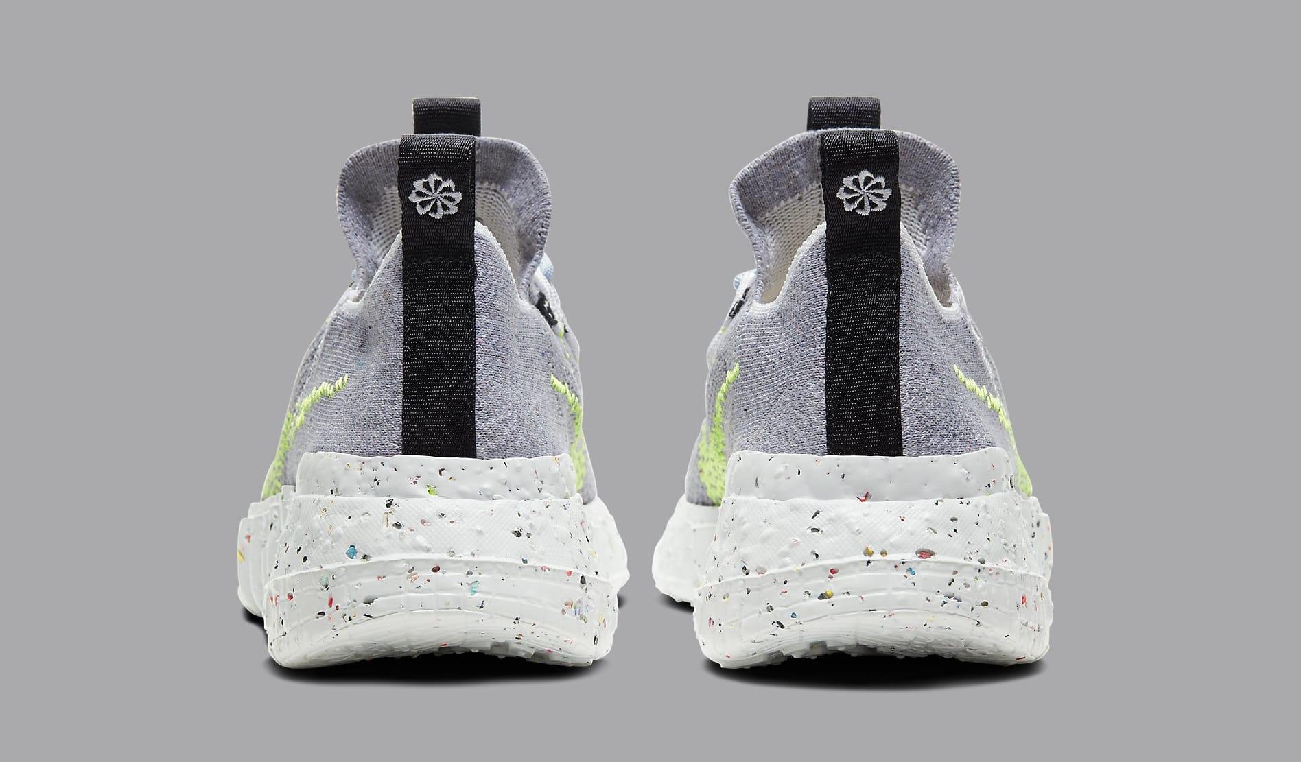 Nike Space Hippie 01 'Grey/Volt' CQ3988-002 Heel