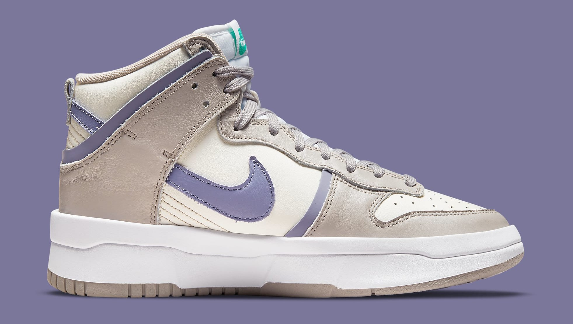 Nike Dunk High Up 'Iron Purple' DH3718-101 Medial