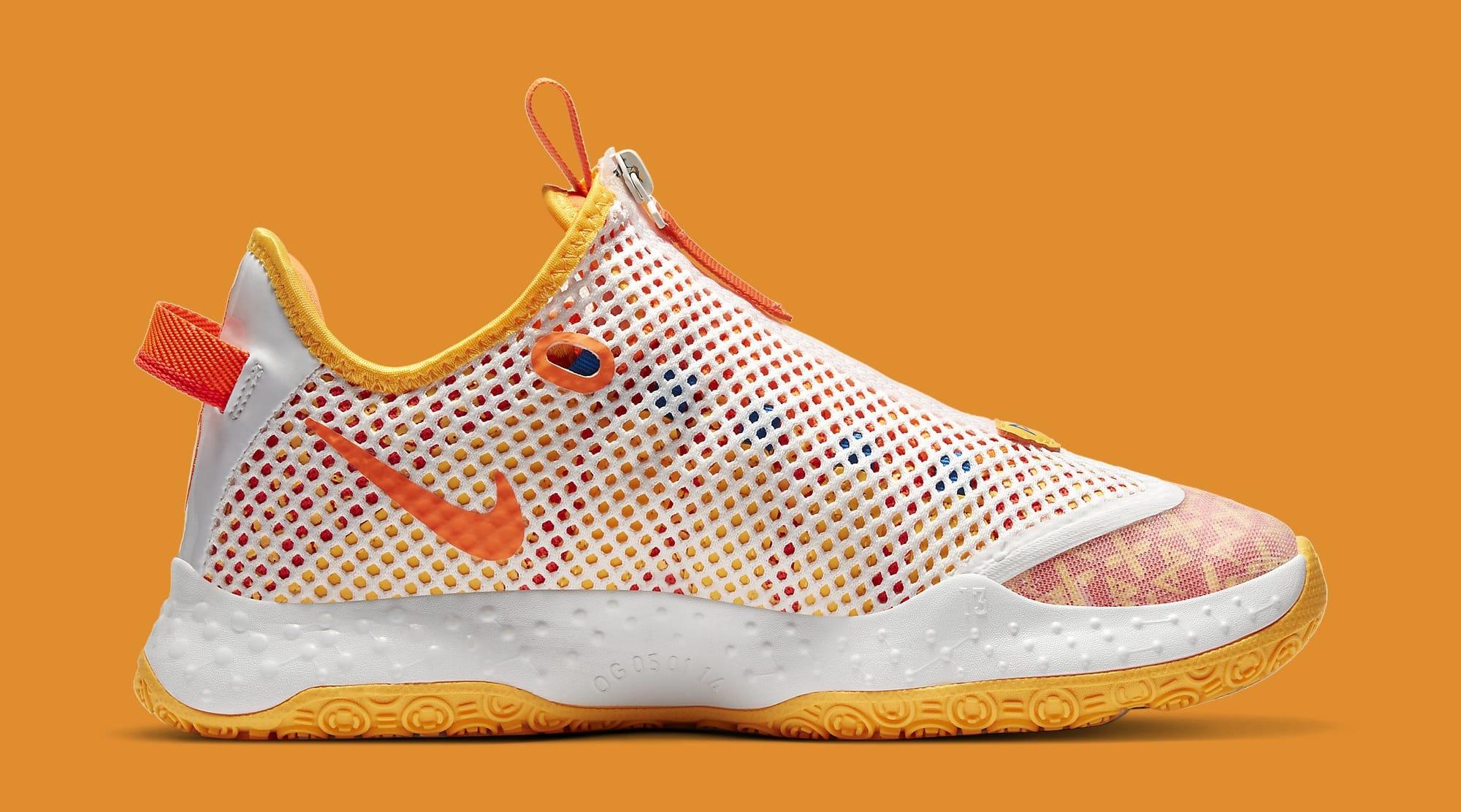 Gatorade x Nike PG 4 'Orange' CD5078-101 Medial