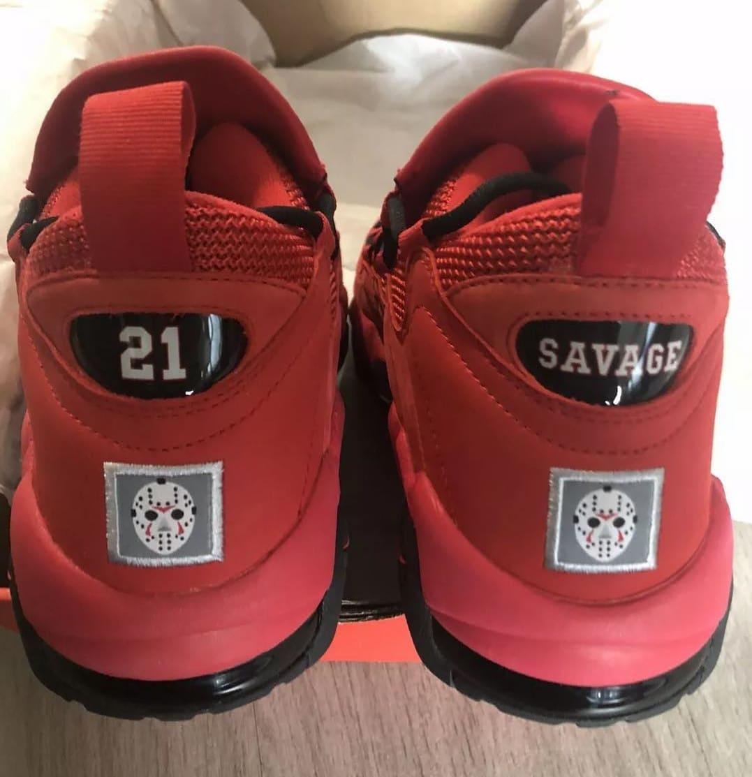 21 Savage x Nike Air More Money 'Issa' (Heel)