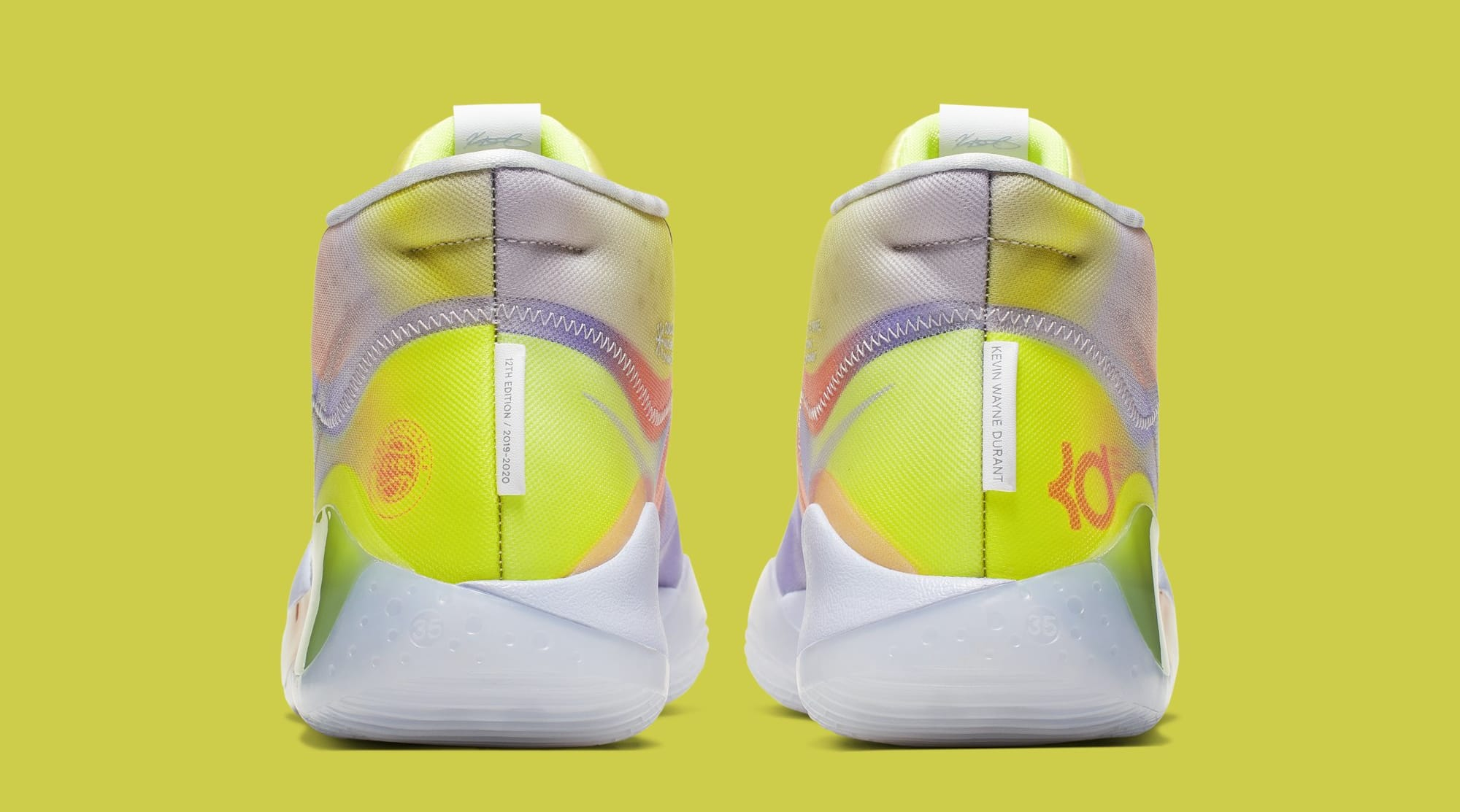Nike KD 12 'EYBL' Multi-Color CK1201-900 (Heel)