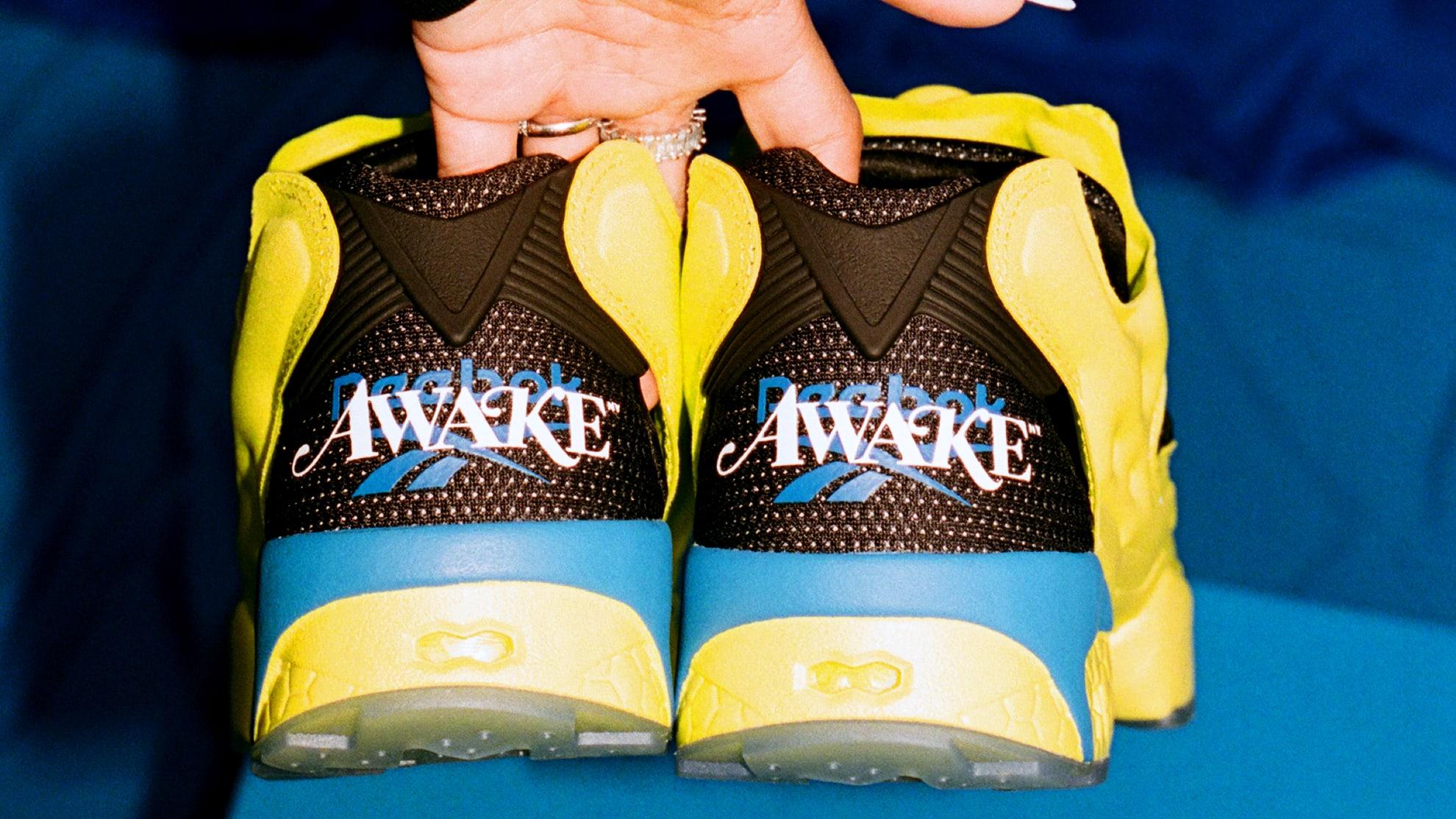 Awake NY x Reebok Instapump Fury (Heel)