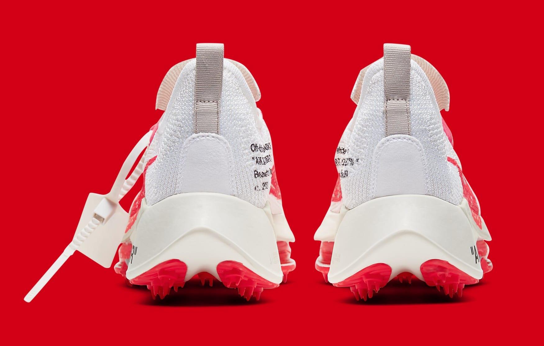 Off-White x Nike Air Zoom Tempo Next% CV0697-100 Heel