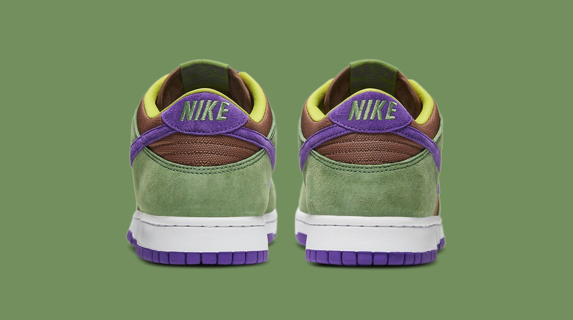 Nike Dunk Low 'Veneer' 2020 DA1469-200 Heel