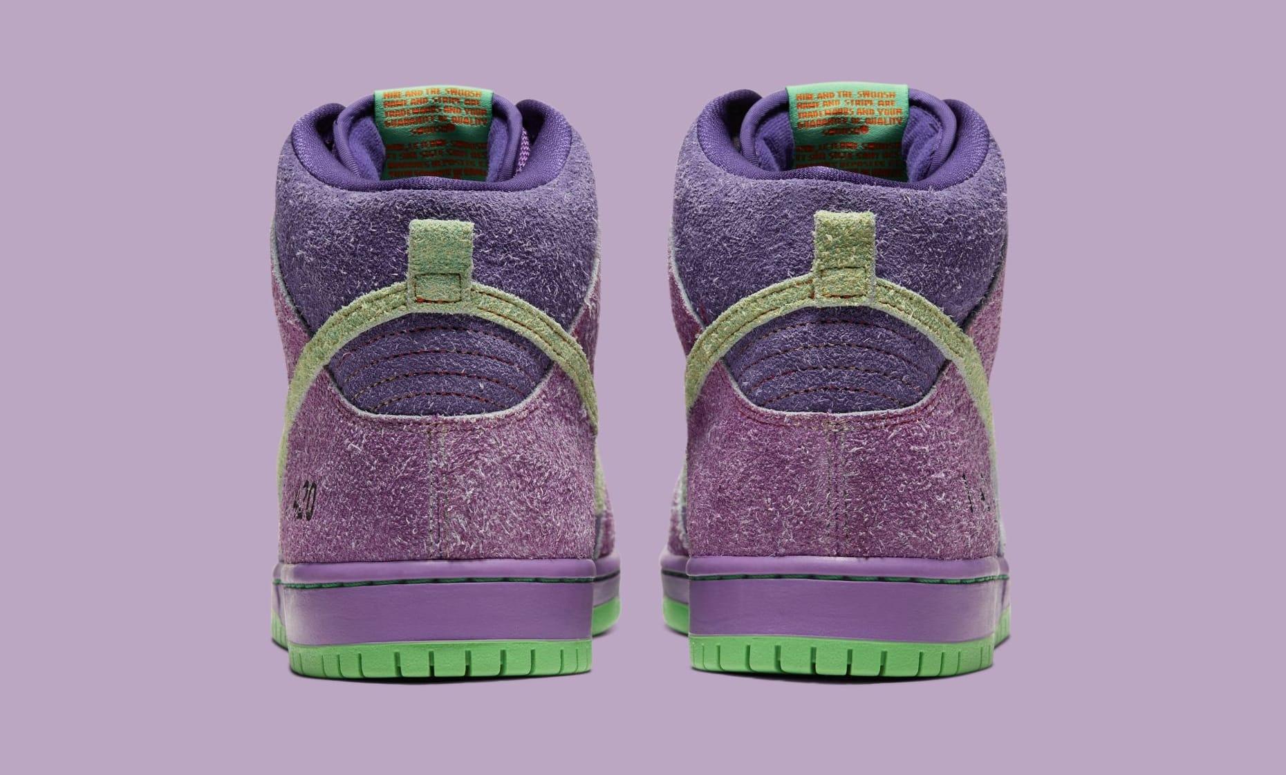 Nike SB Dunk High '420' 2020 Heel