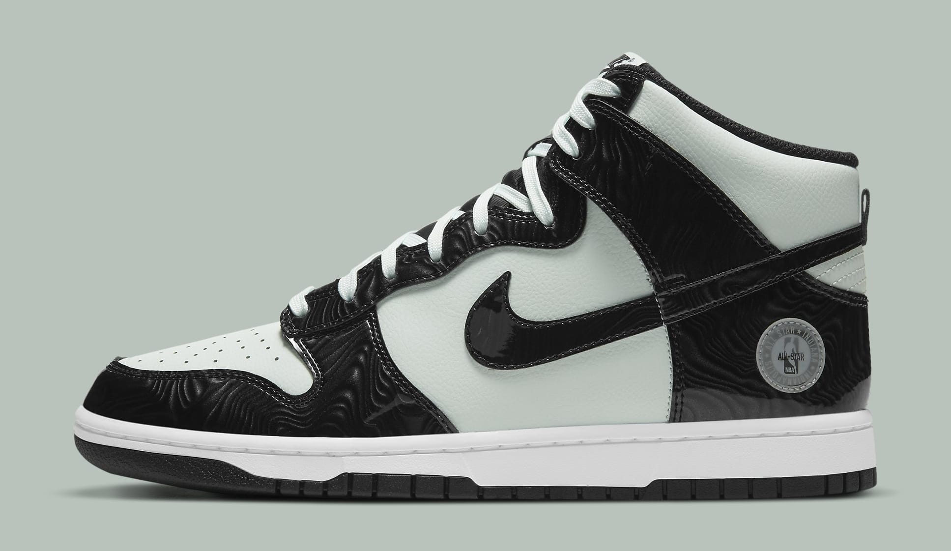 Nike Dunk High 'Barely Green' DD1398-300 Lateral