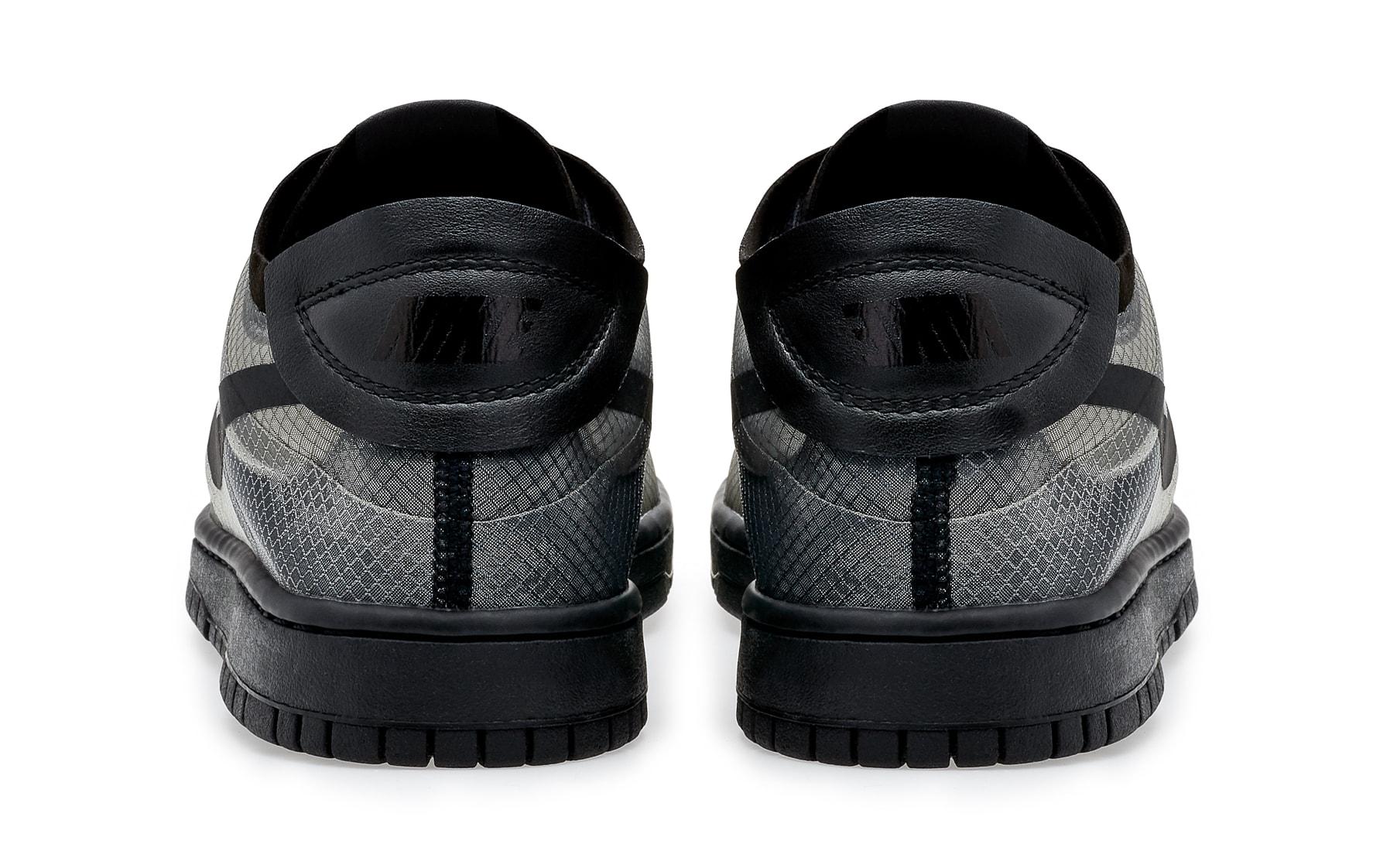 Comme Des Garcons x Nike Dunk Low Heel