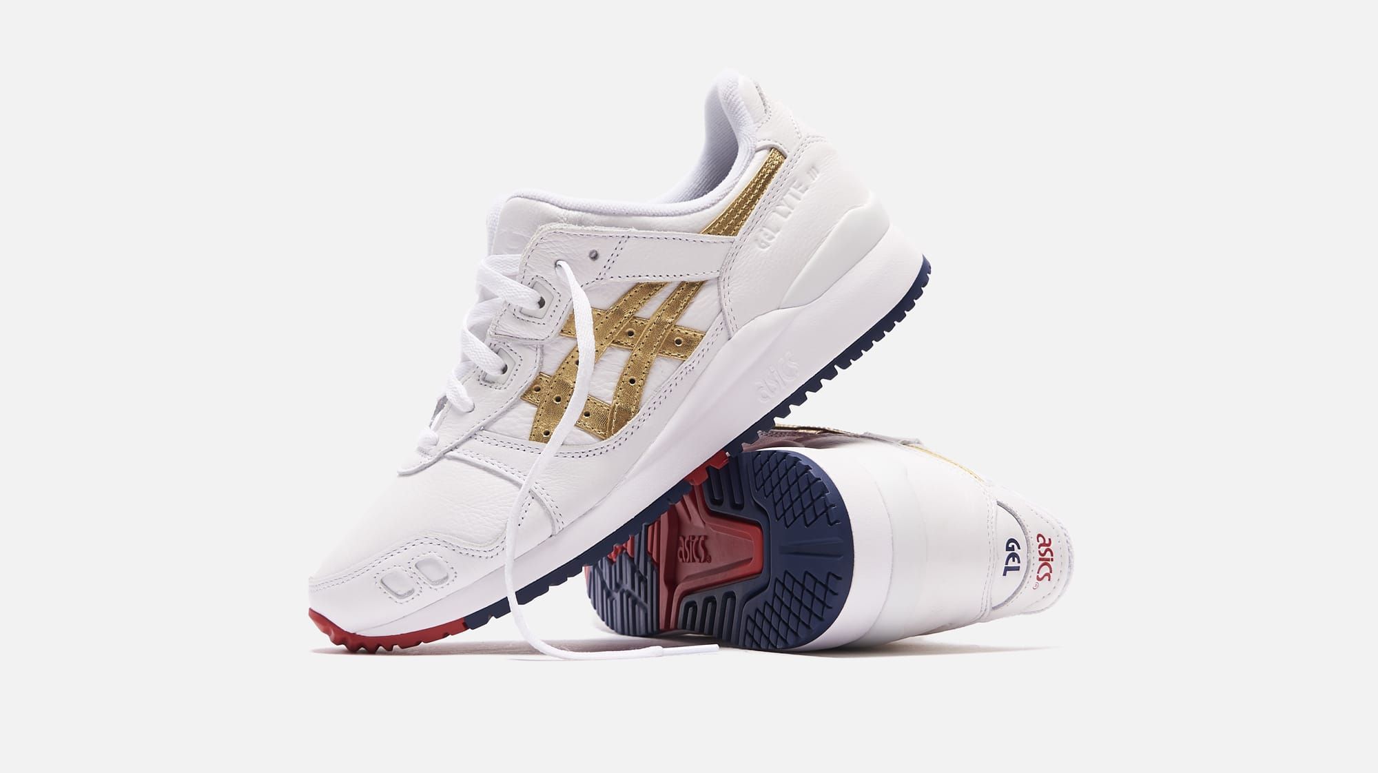 Ronnie Fieg x Asics Gel-Lyte 3 'Super Gold' Side