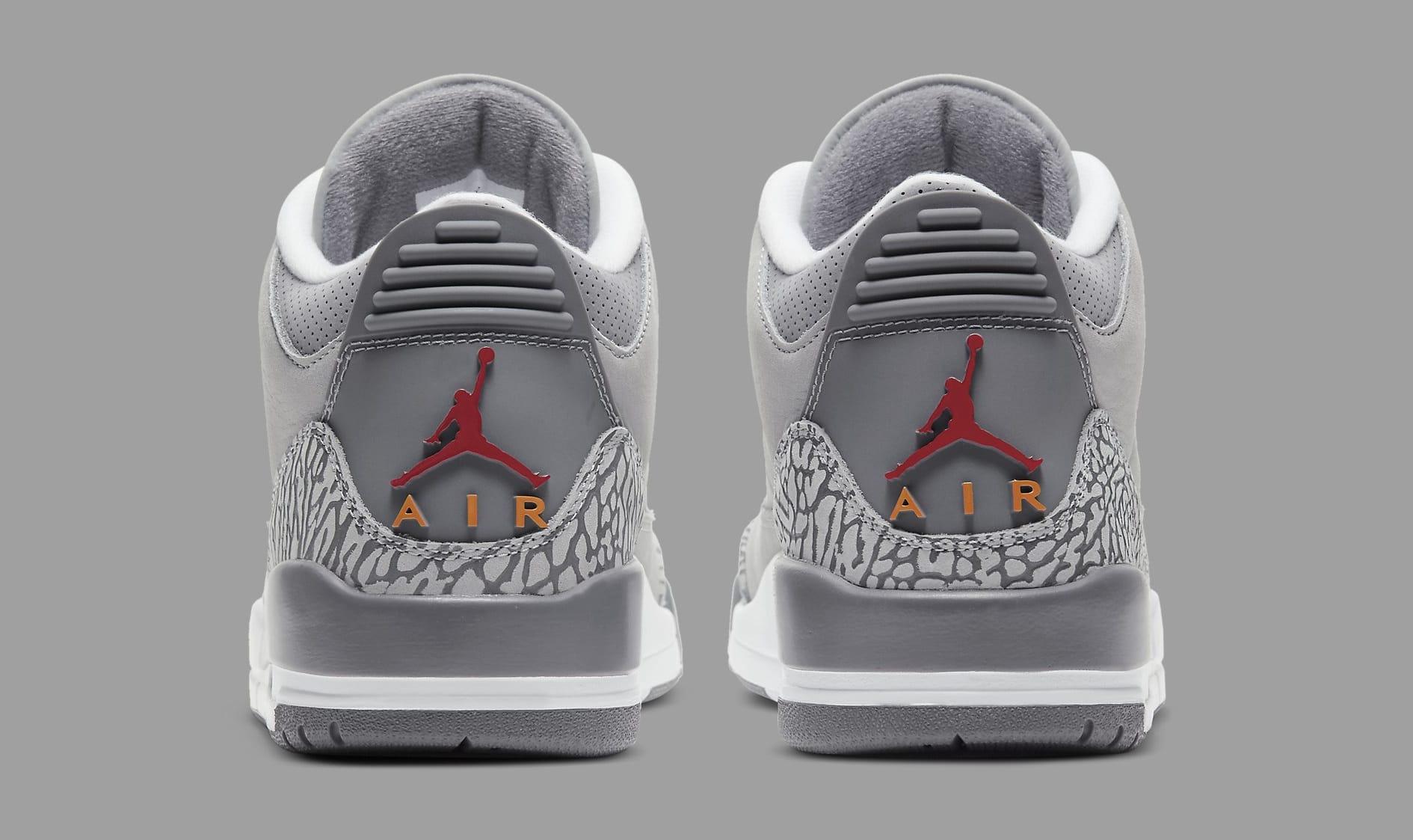 Air Jordan 3 Retro 'Cool Grey' 2021 CT8532-012 Heel