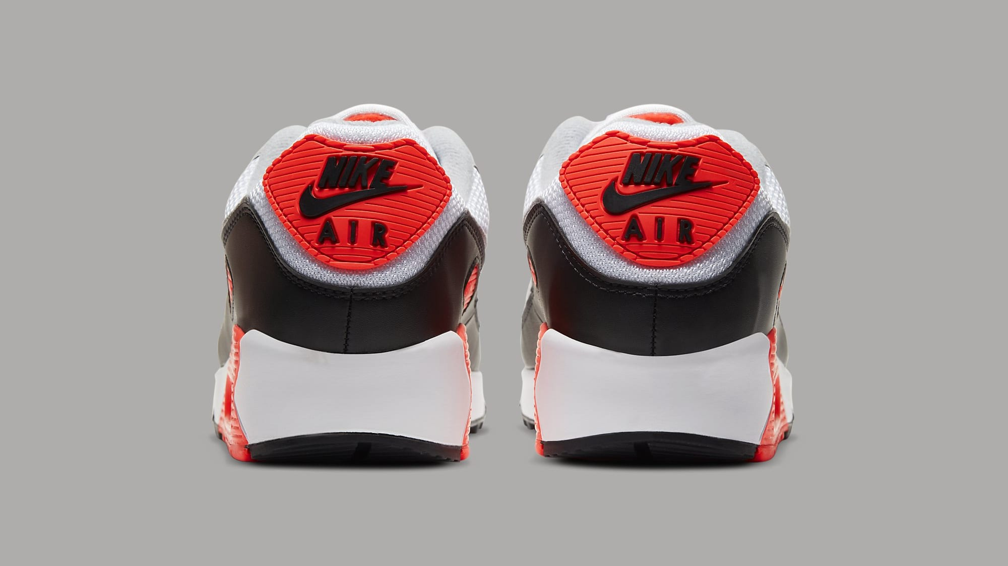 Nike Air Max 90 'Infrared' CT1685-100 Heel