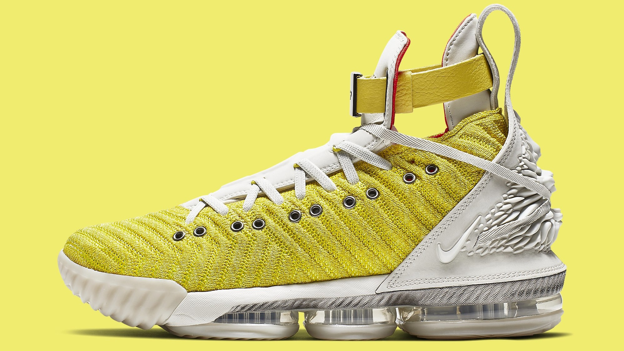 0f4303a4f2a Nike LeBron 16 XVI HFR Bright Citron Release Date CI1145-700 Profile