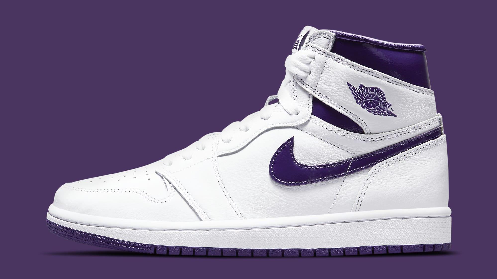 Air Jordan 1 Retro High OG Women's 'Court Purple' CD0461-151 Lateral