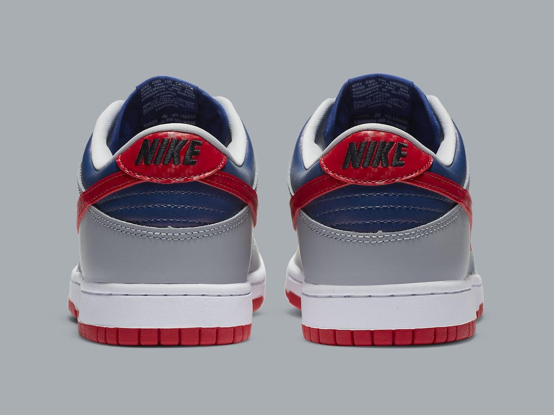 Nike Dunk Low Samba Release Date CZ2667-400 Heel