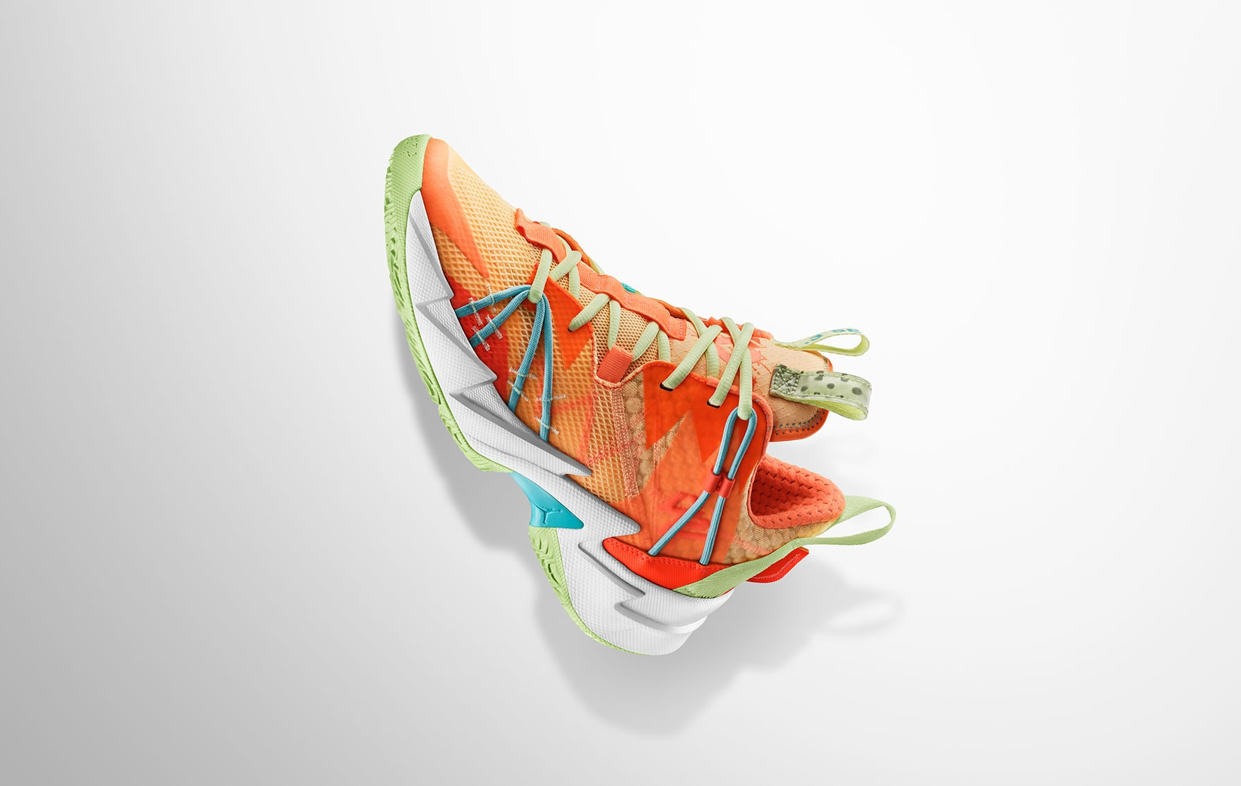 Jordan Why Not Zer0.3 SE 'Atomic Orange' Lateral