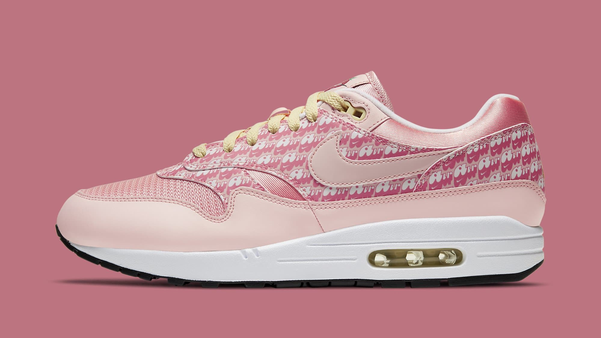 Nike Air Max 1 'Strawberry Lemonade' CJ0609-600 Lateral