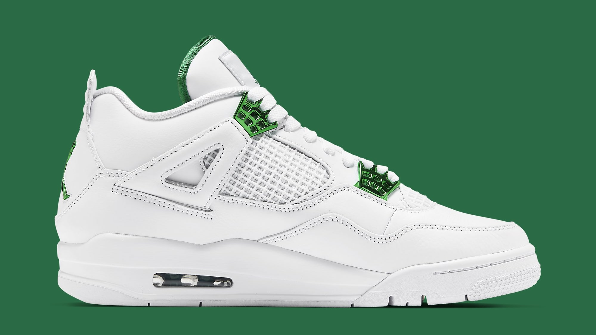 Air Jordan 4 Retro 'Green Metallic' CT8527-113 Medial