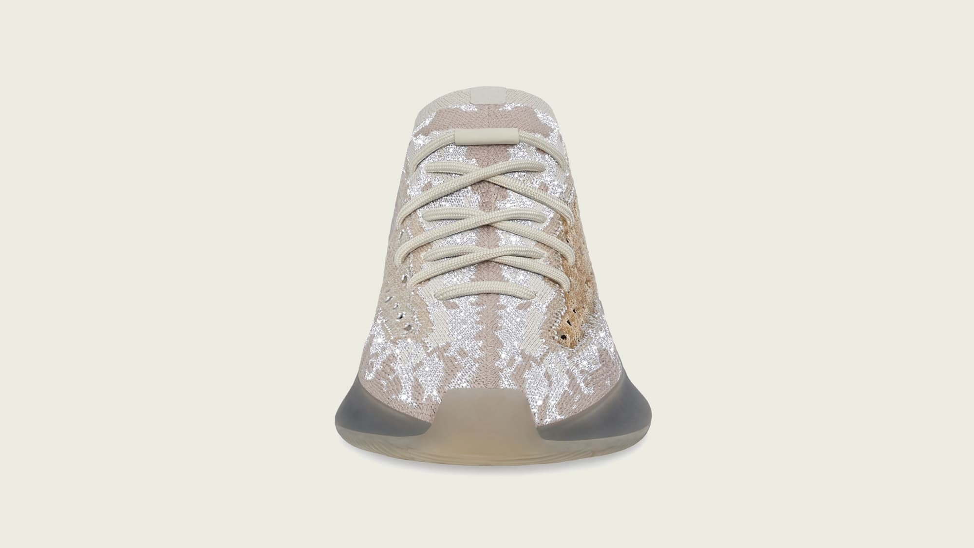Adidas Yeezy Boost 380 'Pepper Reflective' FZ4977 Front