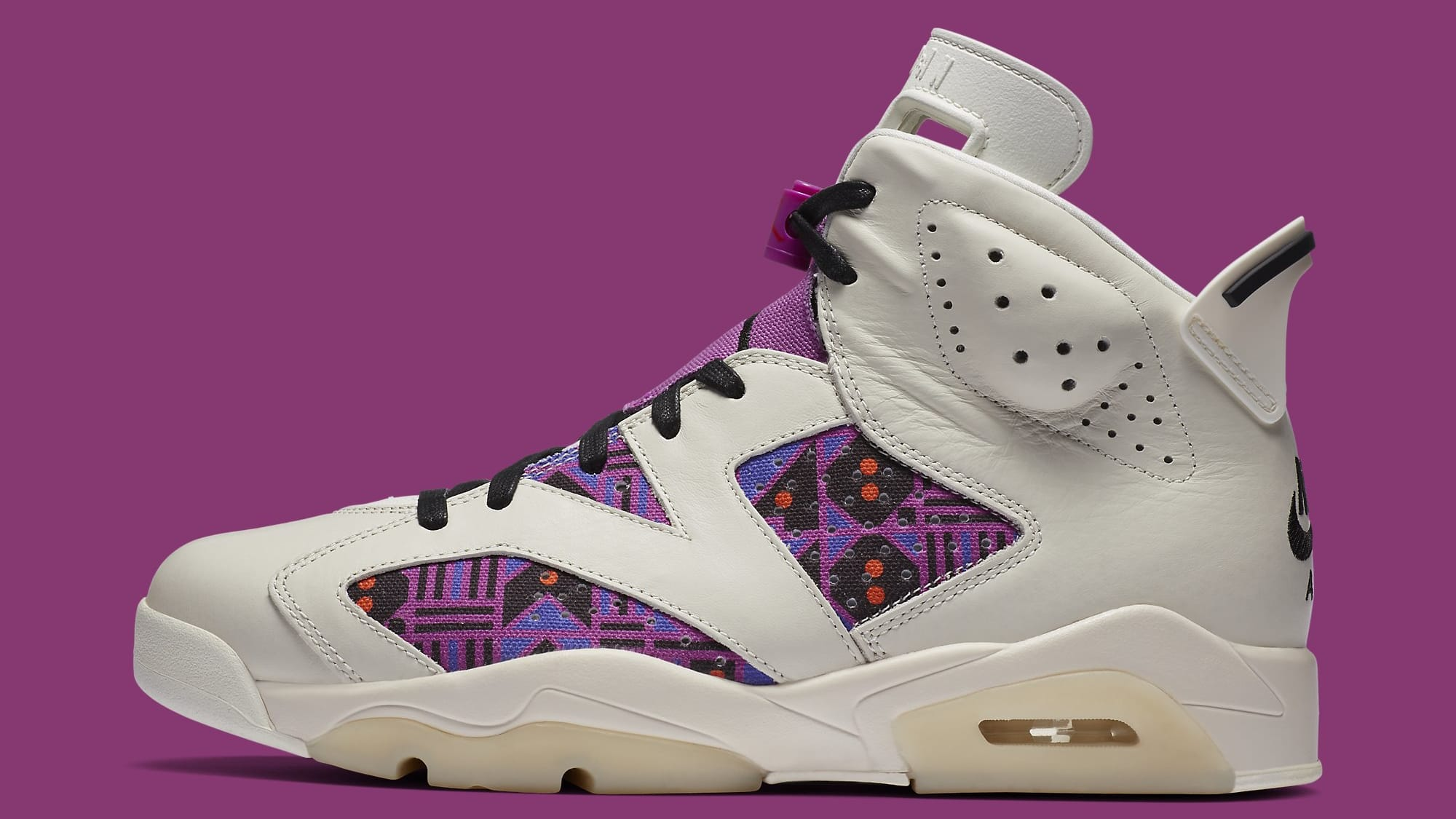 Air Jordan 6 Quai 54 Release Date CZ4152-101 Top