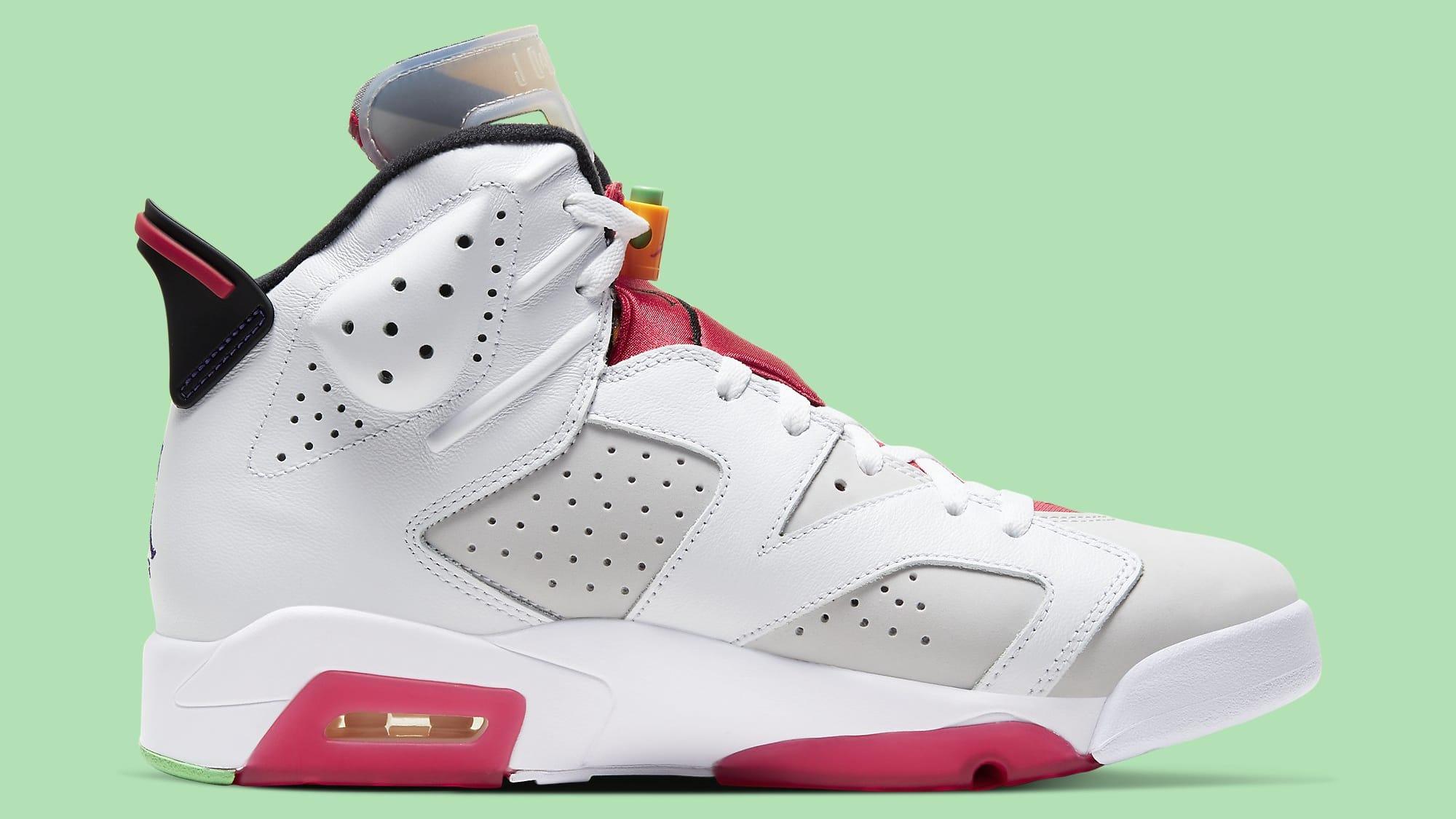 Air Jordan 6 Hare Release Date CT8529-062 Medial
