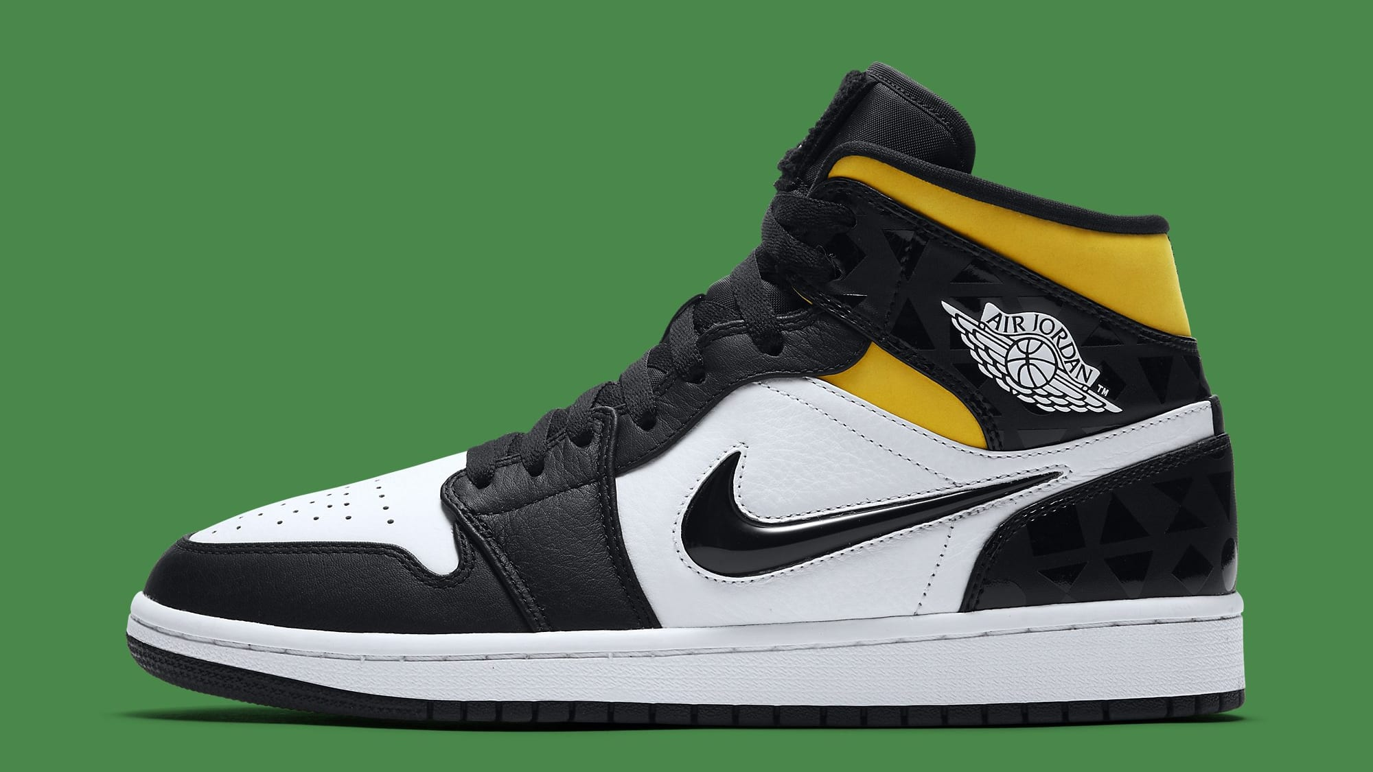 Air Jordan 1 Retro Mid 'Quai 54' CJ9219-001 Lateral