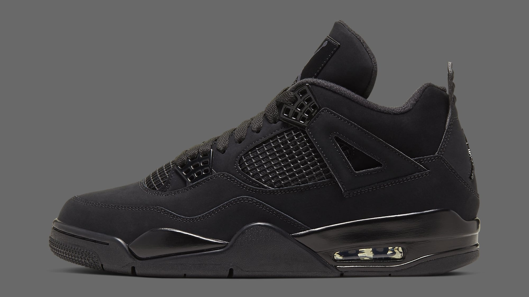 Best Look Yet at the Air Jordan 4 Retro 'Black Cat'