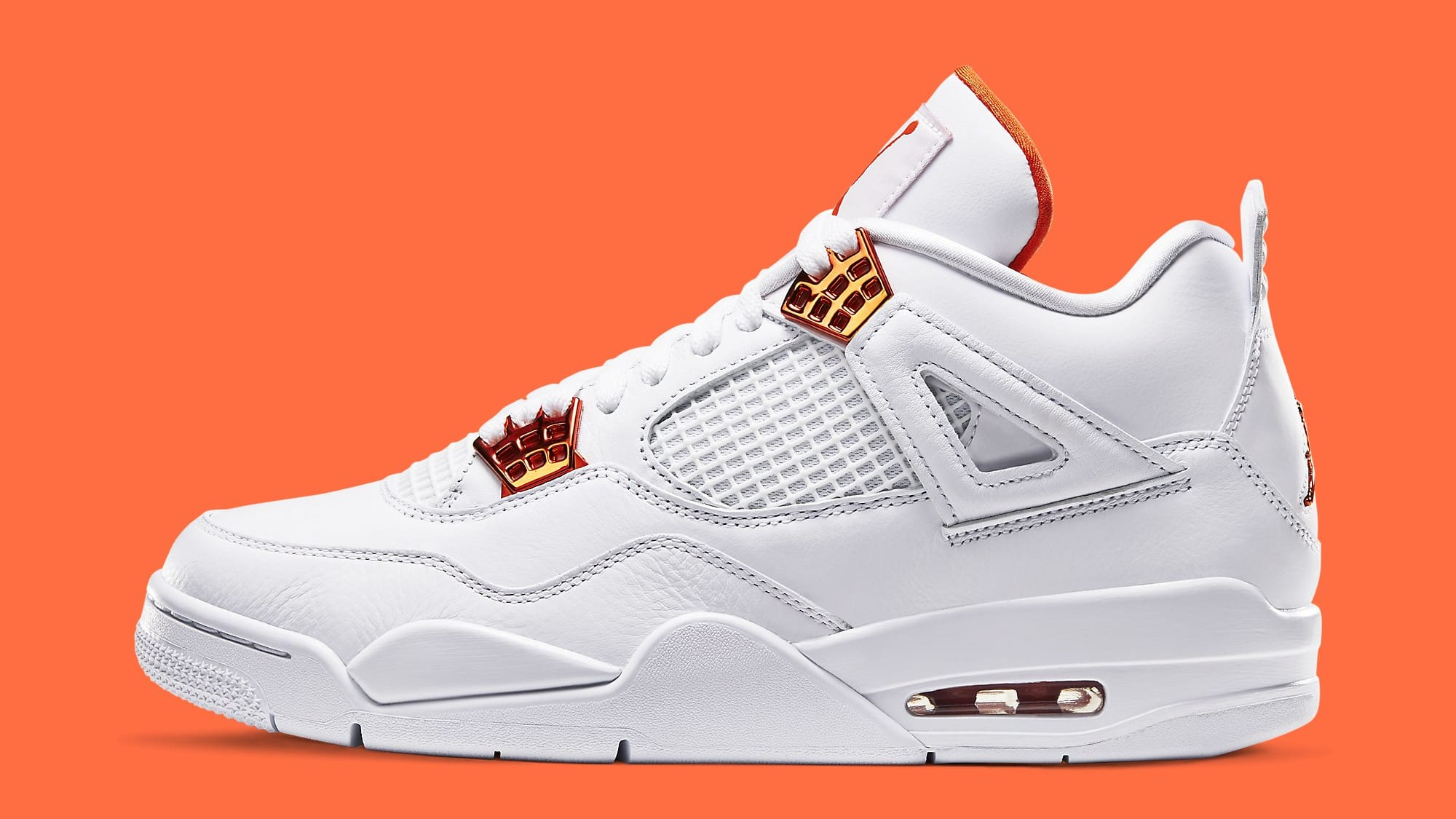 Air Jordan 4 Metallic Orange Release Date CT8527-118 Profile