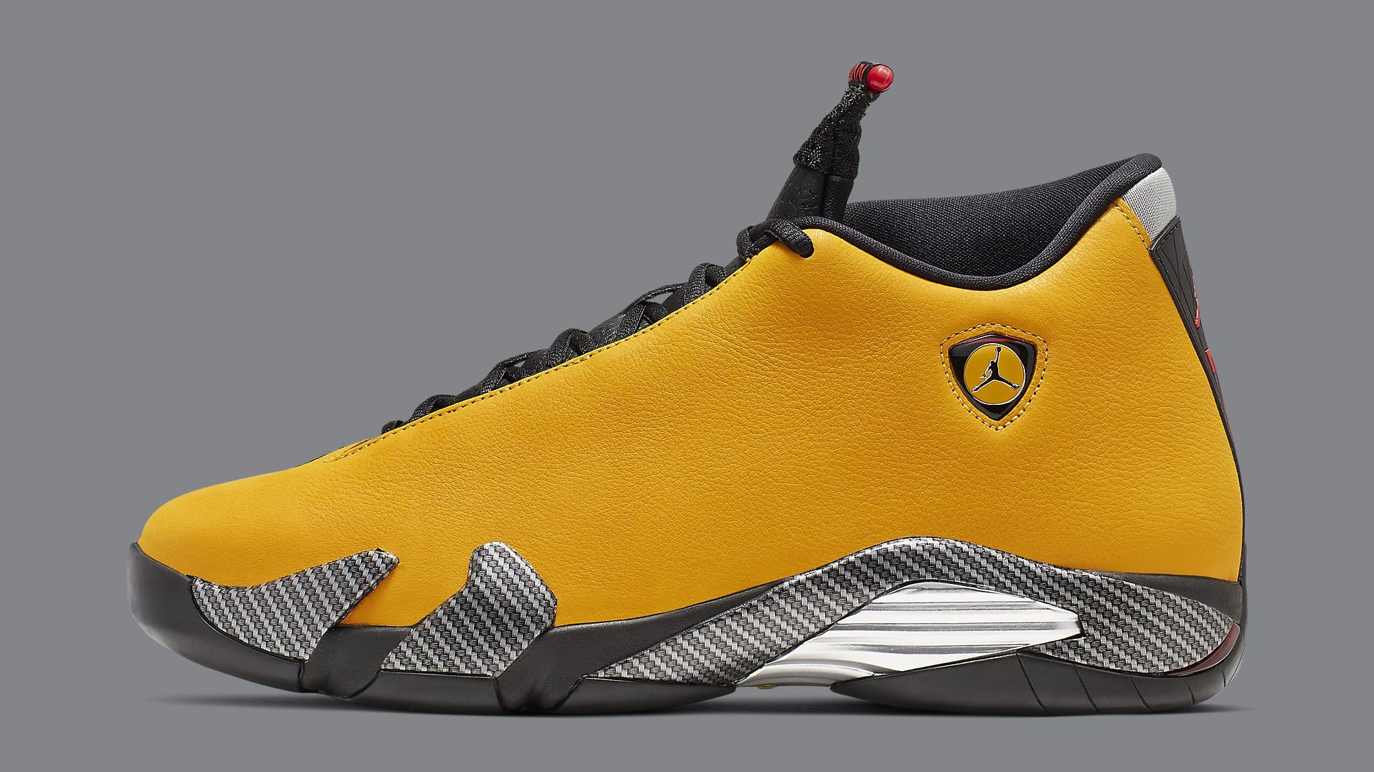 Air Jordan 14 XIV Yellow Ferrari Release Date BQ3685-706 Profile