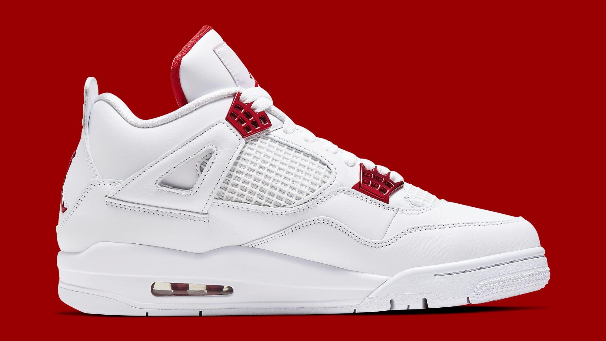 Air Jordan 4 Metallic Red Release Date CT8527-112 Medial