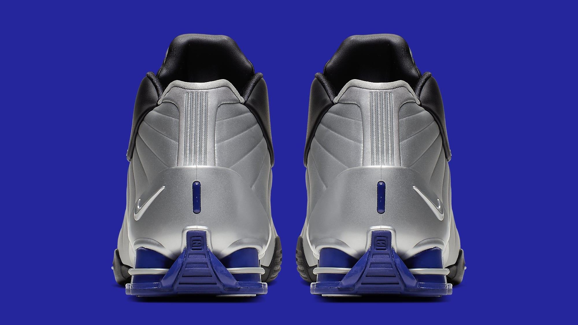 Nike Shox BB4 OG 'Metallic Silver' AT7843-001 Heel