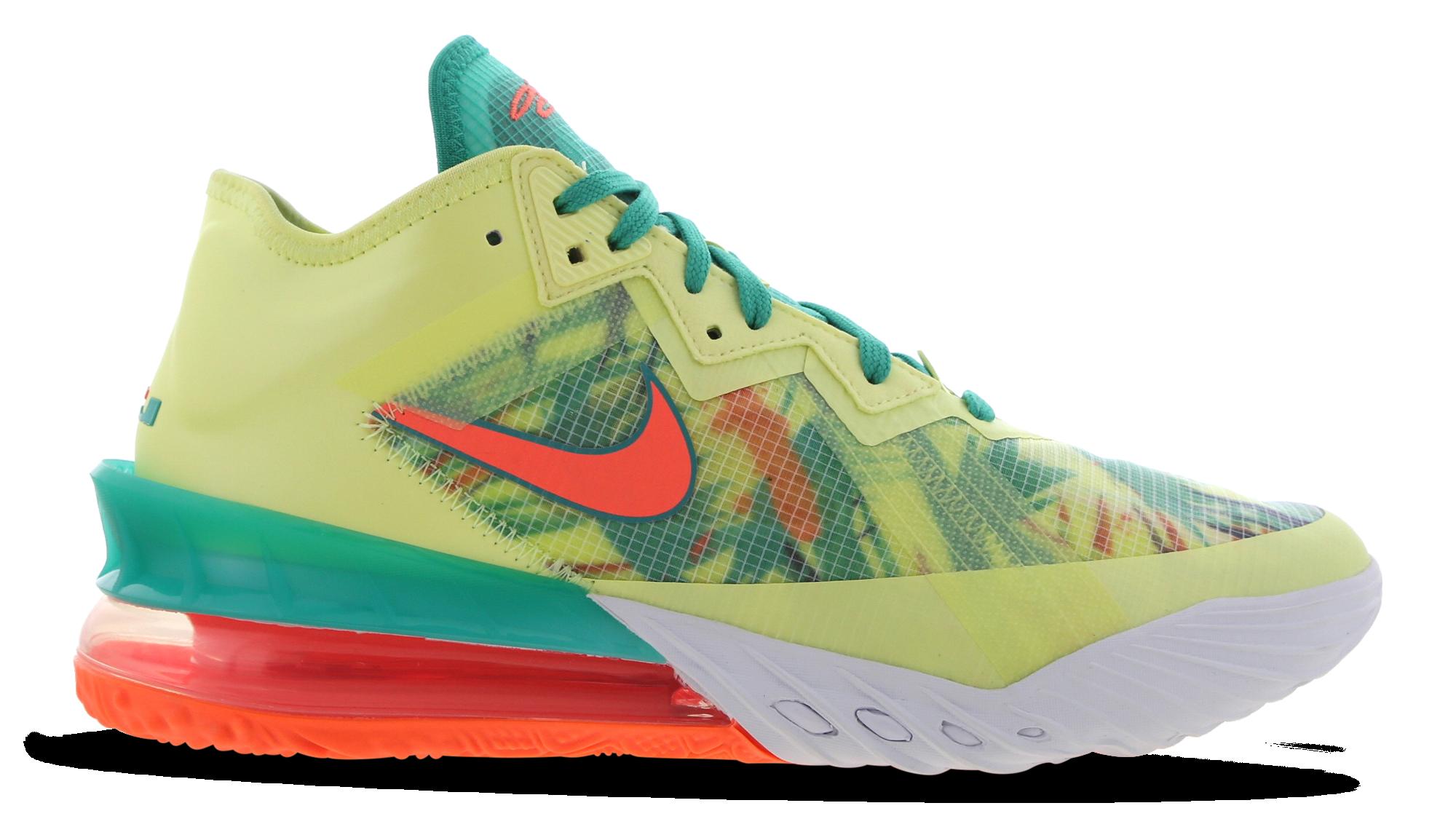 Nike LeBron 18 Low 'LeBronald Palmer' CV7562-300 Lateral